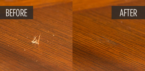 How to Fix Gouges in Wood Furniture