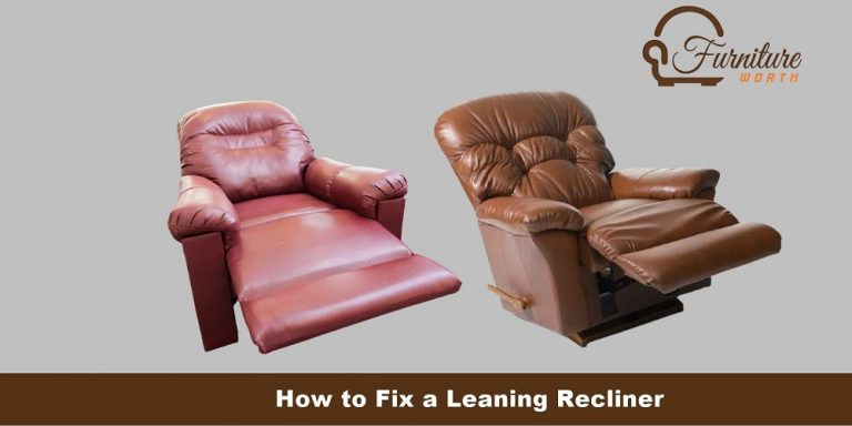 How to Fix a Leaning Recliner, fix one side recliner, steps to fix leaning one side recliner